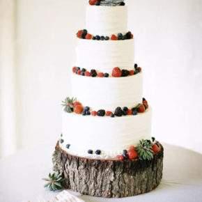 зимняя свадьба торт фото 50