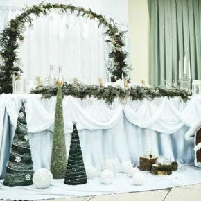 зимняя свадьба идеи оформления фото 52