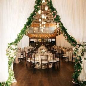 зимняя свадьба идеи оформления фото 53