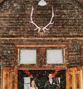 зимняя свадебная фотосессия фото 75