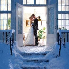 зимняя свадебная фотосессия фото 76