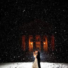 зимняя свадебная фотосессия фото 77
