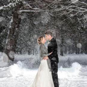 зимняя свадебная фотосессия фото 78