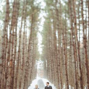 зимняя свадебная фотосессия фото 80