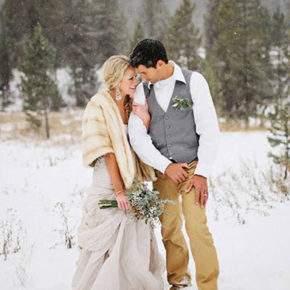 зимняя свадебная фотосессия фото 84
