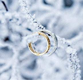 свадебная фотосессия зимой фото 103