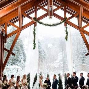 свадебные фото зимой фото 108