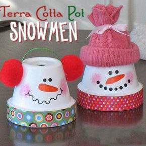 поделки зима снеговик фото 044