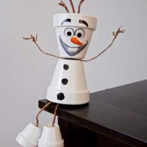 поделки зима снеговик фото 045