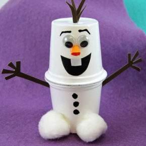 поделки зима снеговик фото 046