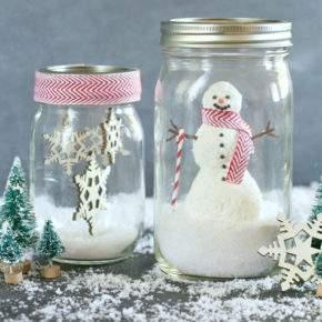 поделки зима снеговик фото 050