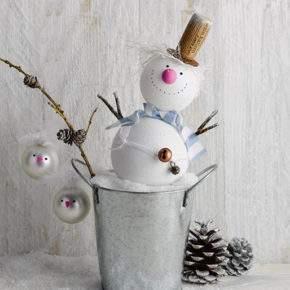 поделки зима снеговик фото 051