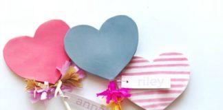 как делать сердечки из бумаги фото 043