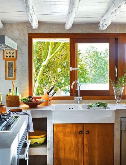 деревянные окна фото 002
