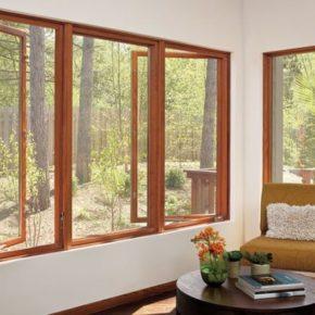 деревянные окна фото 004
