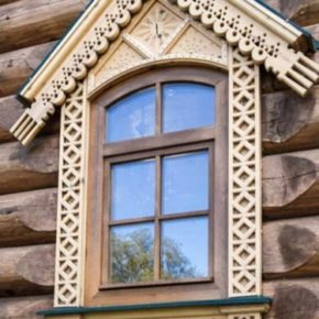 русские окна из дерева фото 007