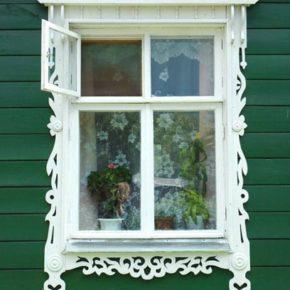русские окна из дерева фото 009