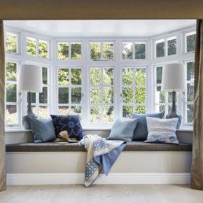 деревянные окна со стеклопакетом фото 022