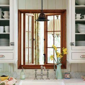 деревянные окна для дачи фото 028