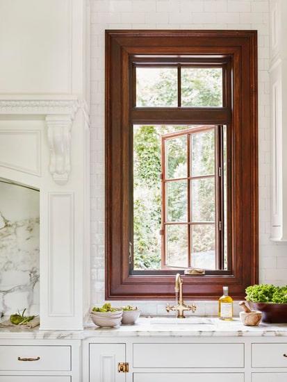 деревянные окна для дачи фото 031