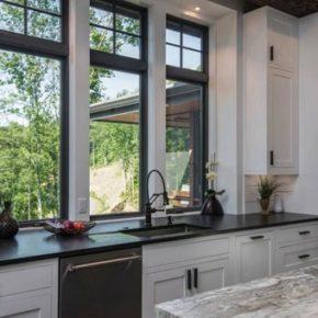 деревянные окна со стеклопакетом фото 038