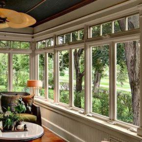 деревянные окна со стеклопакетом фото 039