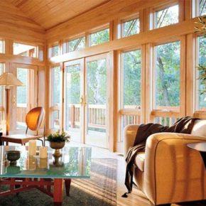 деревянные окна для дачи фото 042