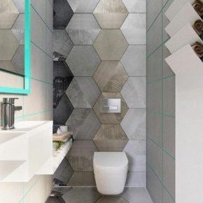 дизайн ванной комнаты плитка фото 011