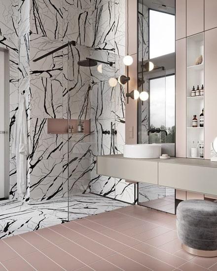 дизайн ванной комнаты плитка фото 012