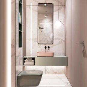 дизайн ванной комнаты плитка фото 014