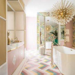 дизайн ванной комнаты плитка фото 015