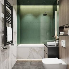ванная комната плитка фото 022