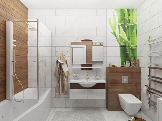 плитка в ванную комнату фото 041