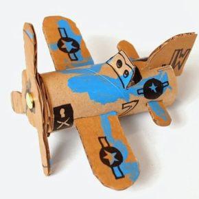 поделка самолет своими руками фото 061
